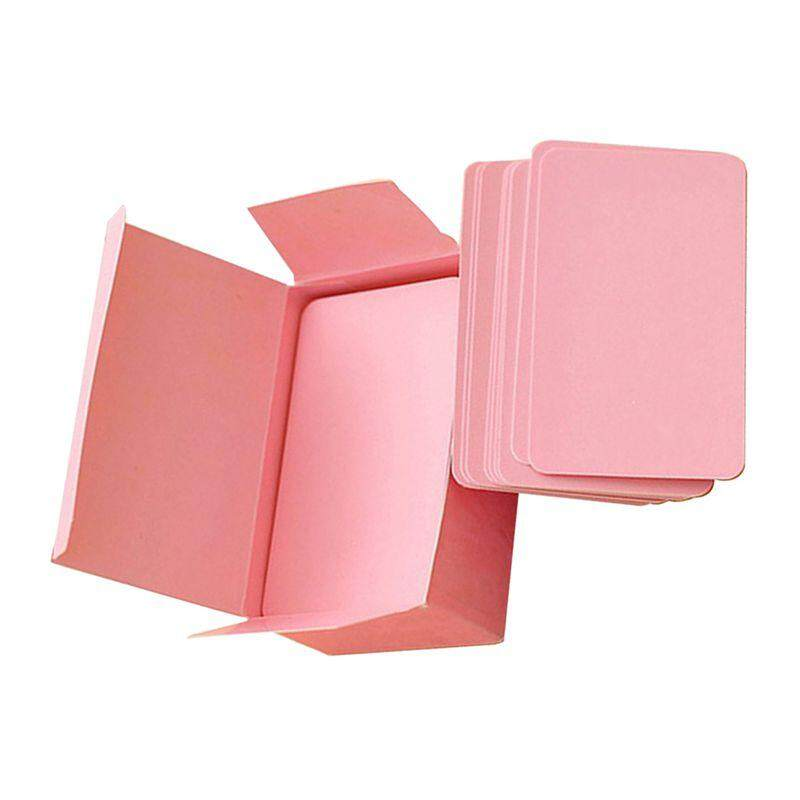 ... Blank Handwritten Paper Message Card Business Thank You Cards for Memo Wedding Party Greeting pink -