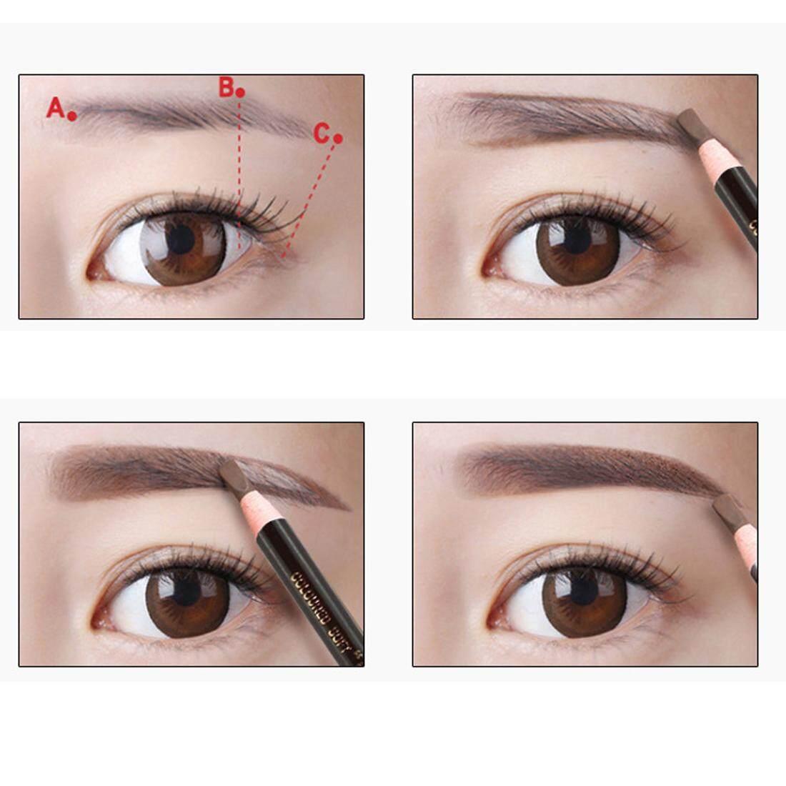 New Waterproof Cosmetics Eyebrow Pencil Eyeliner Eyebrow Pen - intl Philippines
