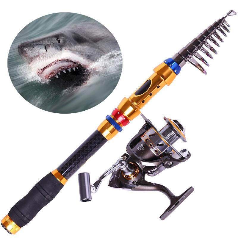 Sea Pole Fishing Rod Fishing Rod Carbon 1.8/2.1/2.4/2.7 /3.0/3.6m Super Hard Long Rod Fishing Rod - Intl By Darling Baby.