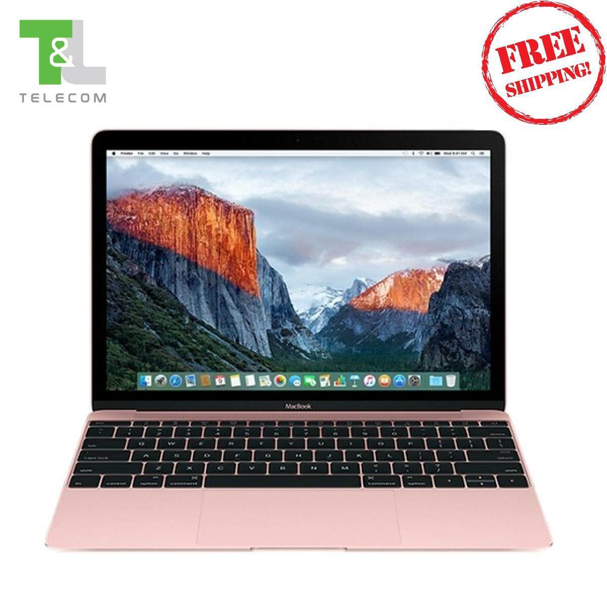 Apple MacBook 12 inch 1.2GHz 512GB Dual-core Intel Core (Rose Gold) MMGM2ZP/A - 2016 version / New / Sealed / Ready Stock / Official 1-Year Warranty Apple Malaysia Malaysia
