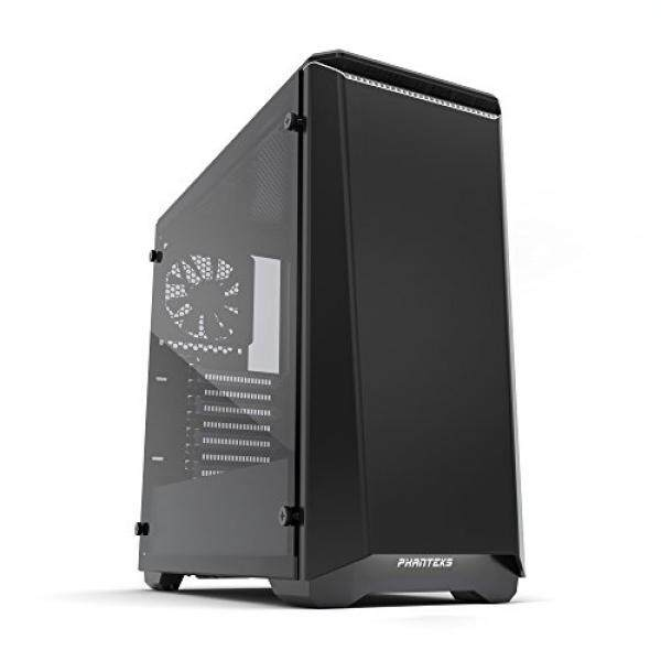[From.USA]Phanteks PH-EC416PSTG_BW Eclipse P400S Silent Edition with Tempered Glass, Black/White Cases B01NALAFU9 Malaysia