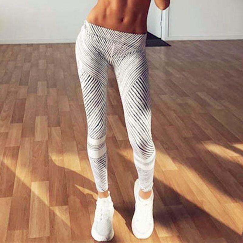 BeautyMaker Wanita Olahraga Gimnasium Kerja Kebugaran Yoga Celana Legging Atletik Lari Celana-Internasional