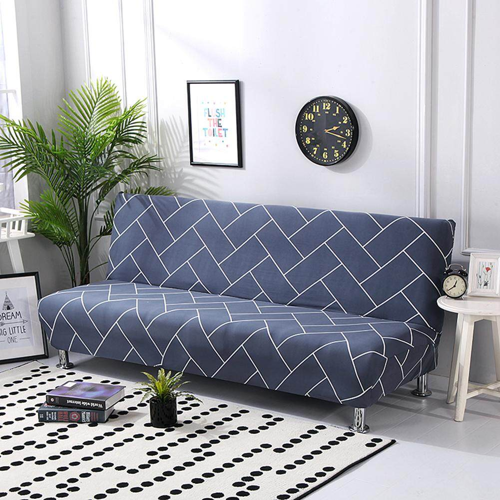 PERNo Armrest Stretch Sofa Cover Slipcover All-Covered Folding Sofa Bed Cover Bed Fitted Sheet Universal Cover Sofa Towel