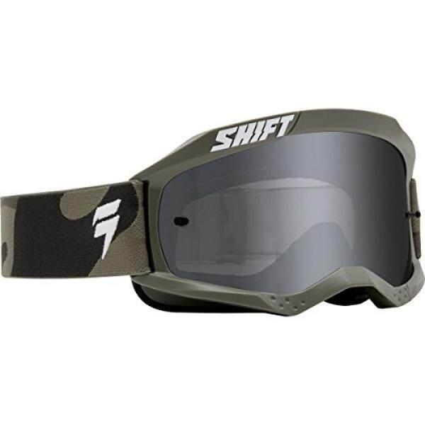 Shift Putih Label Spark Goggle-CAMO-Internasional