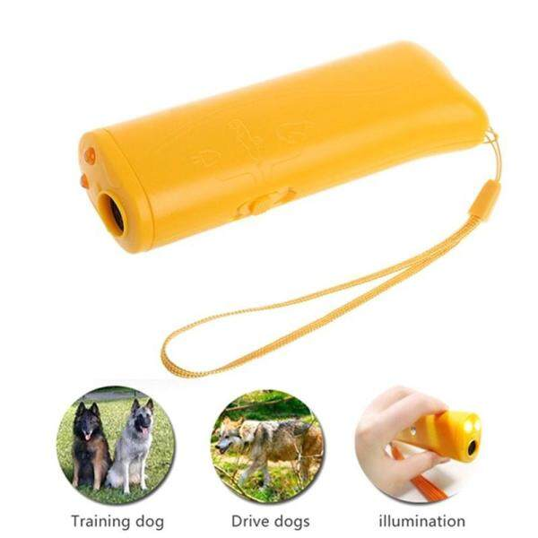 blackhorse 3 In 1 Pet Anti Stop Bark Ultrasonic Pet Dogs Repeller Training Device Trainer
