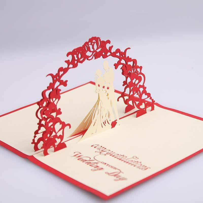 3D Sweet Wedding Card