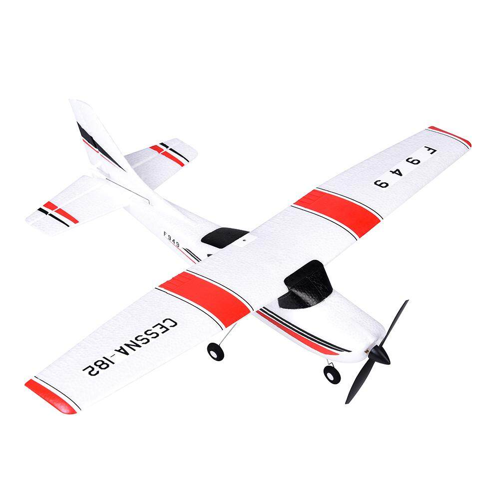 Wl Toys F949 Rc Toy 2.4 G Airplane Aircraft Model Three-Channel Gliders With Server Fixed Wing (built-In Usb Batterty) By Aokaila.