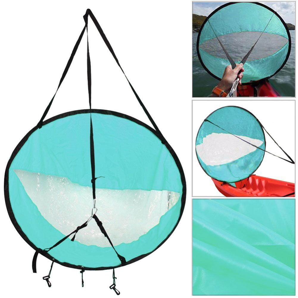Hình ảnh PAlight Kayak Boat Wind Sail Paddle Board Sail with Clear Window Fishing Rowing Boat Inflatable Drifting - intl