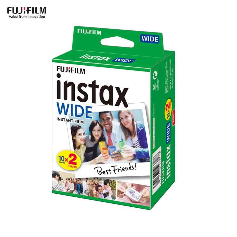 Mã Coupon Phim Tức Thời Giấy Ảnh Fu-jifilm Instax Cho F-ujifilm Instax Broad300, 20 Tờ