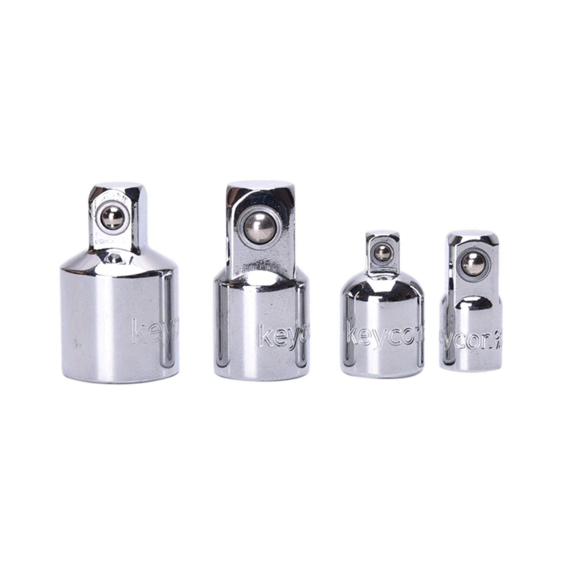 4 PCS 1/4 3/8 1/2 Socket Adaptor Reducer Converter Set Kit Tool Ratchet Socket Adaptor - intl