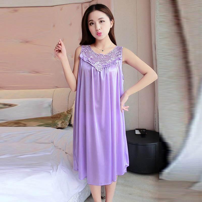 Bk Musim Panas Wanita Wanita Se Xy Renda Panjang Gaun Tidur Jubah Baju Tidur Baju Tidur By Beautymaker.