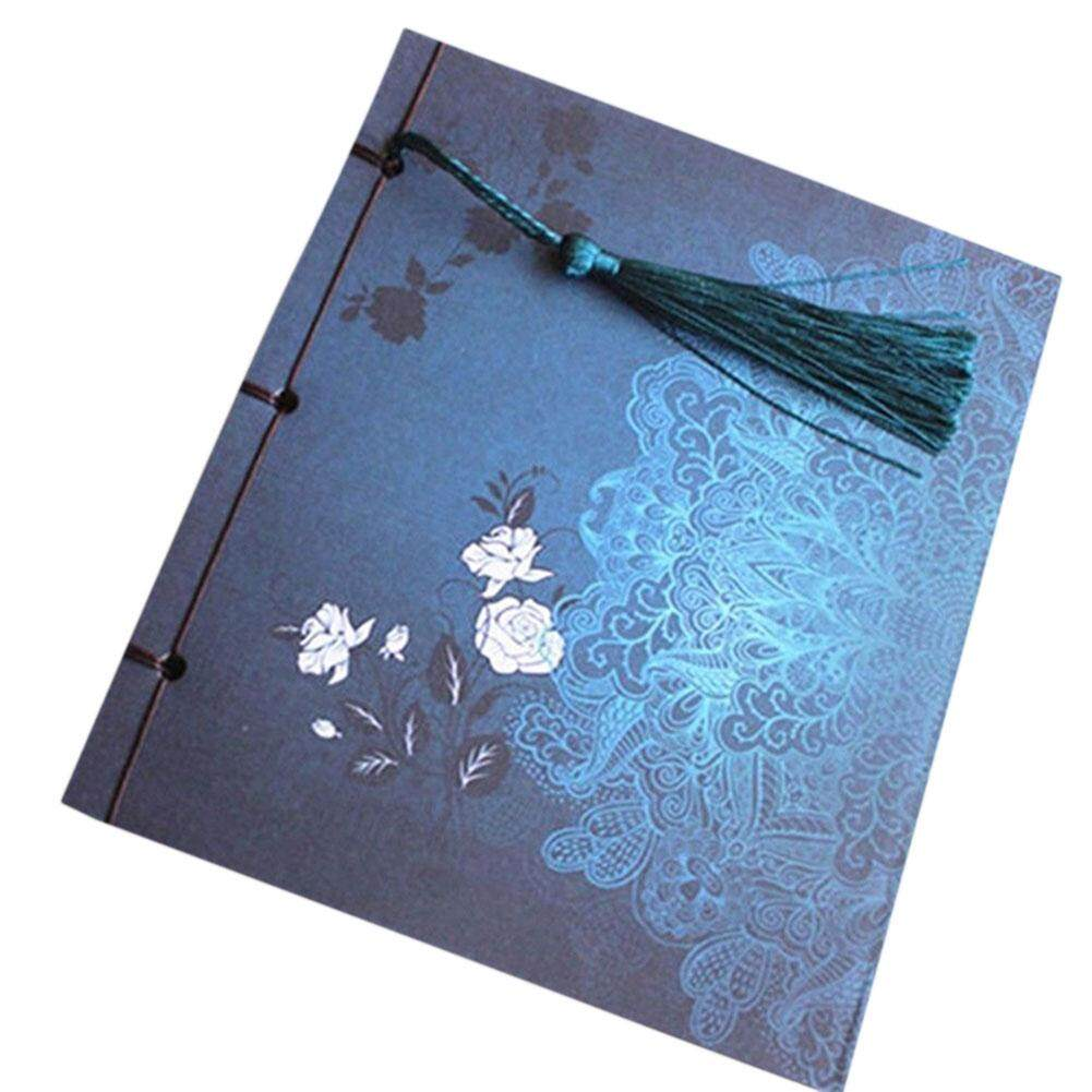 Mua Tassel Stationery Diary Retro Sketchbook Journal Blank Notebook Chinoiserie Art - intl