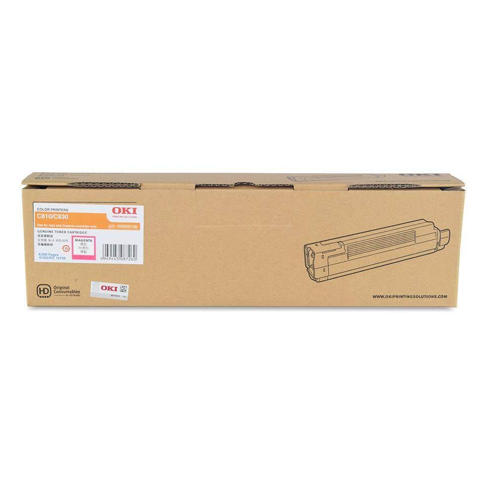 OKI C810 C830 Magenta Toner Cartridge (44059134)