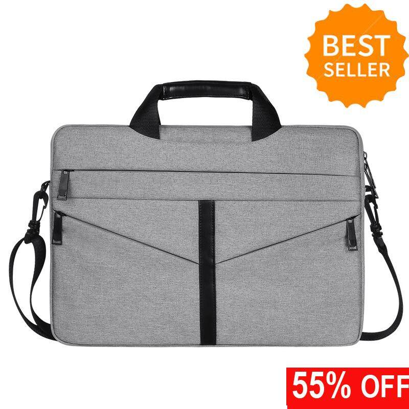 14/15.6 Inch Laptop Briefcase Protective Messenger Bag Nylon Shoulder Bag Multi-functional Hand Bag For Laptop/Ultrabook/Tablet/Macbook/Dell/HP/Men/Women/Business