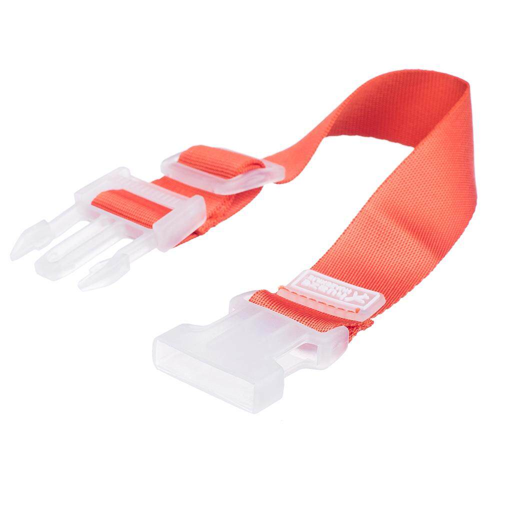 Miracle Shining Adjustable Add A Bag Luggage Packing Strap with Buckle Orange