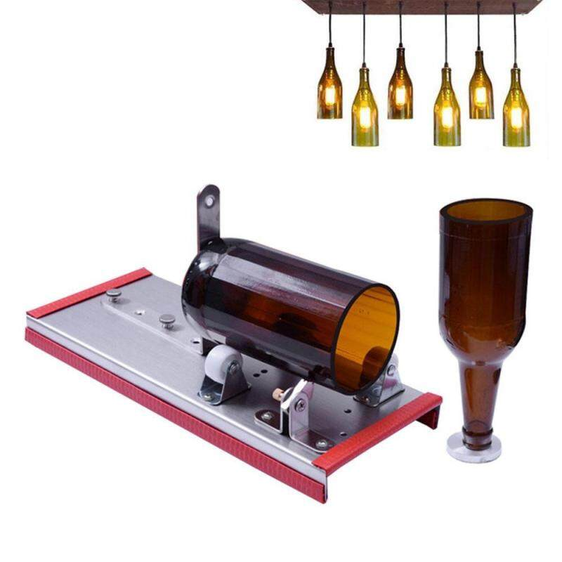 OrzBuy Wine Glass Cutter, Beer Bottle Cutting Kit Tool For DIY Crafting Wine Bottle Lamp, Decorations, Creative Vase - Adjust Many Sizes Metal Bottle Cut Machines With Alloy Cutter Head