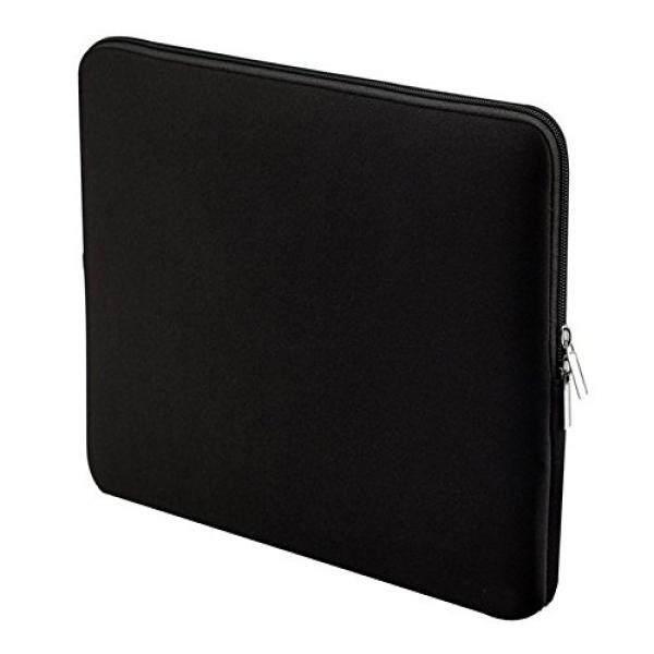Black Neoprene Carrying Sleeve bag Breifcase Cover for ASUS Zenbook / Chromebook / Dell / Toshiba / Samsung ATIV Book / HP Stream / Acer Aspire 13 / Lenovo Yoga 3 / Lenovo Yoga 900 13.3 inch laptop - intl