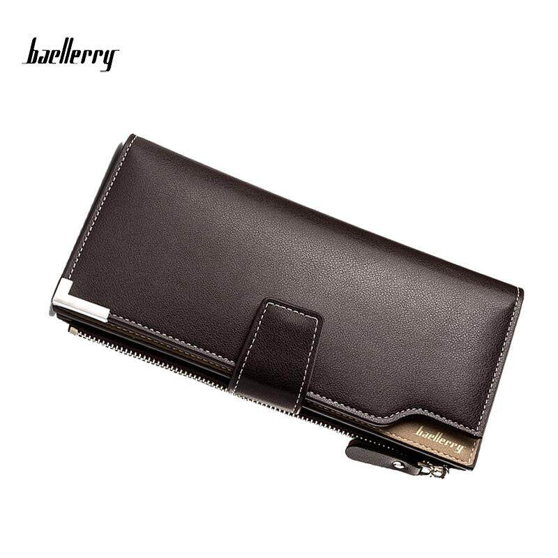 Baellerry WLT-139 ZX-128-3 Original Leather Big Space Long Men Business Wallet