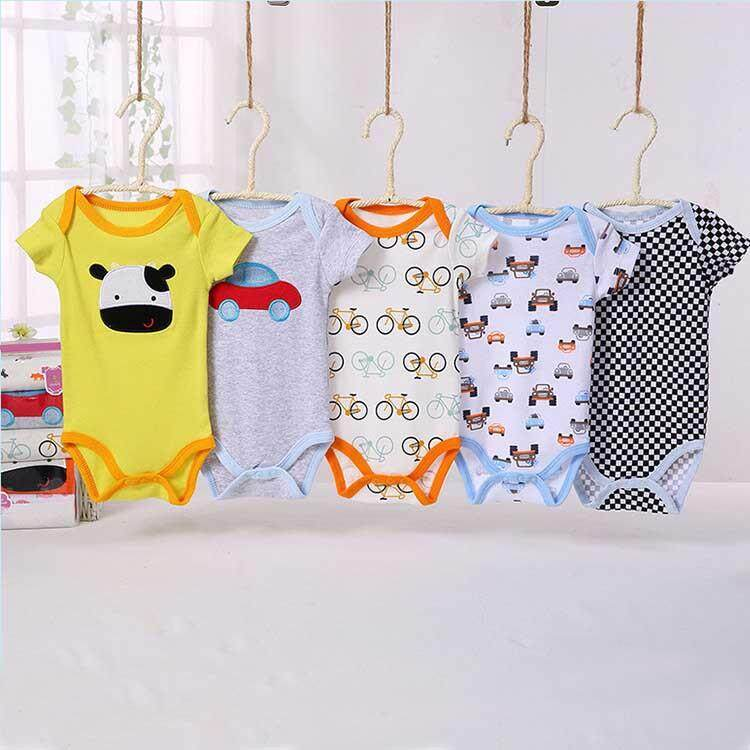 2pcs Baby Boys Girls Short Romper(random Design) - Intl.