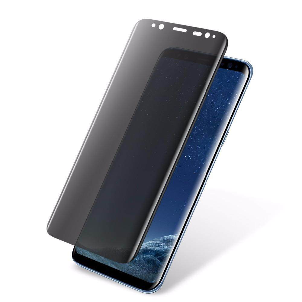 Features 2pc Lot 3d Full Cover Nano Coating Front Tempered Glass Premium Half Curved Glue Uv Liquid Light Samsung S8 Plus S9 Case Friendly Anti Glare For Galaxy