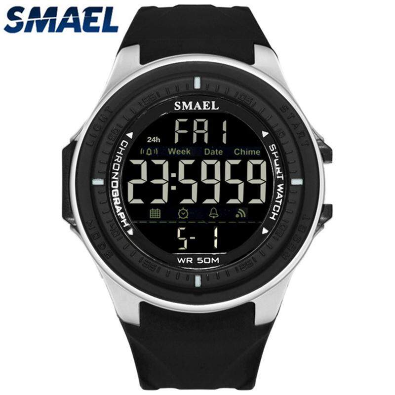 SMAEL Top Luxury Brand Waterproof Military LED Digital Watches Mens Fashion Casual Watches Men Sport Watch bán chạy