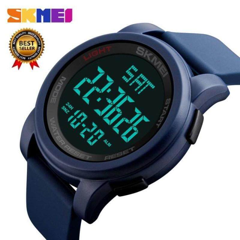 SKMEI 1257 Hot Top Luxury Brand Digital Mens Sports Watch Chrono Countdown Mens LED Digital Watch Mens Military Watch Relogio Masculino Malaysia