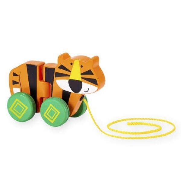 Imaginarium Wooden Tiger Pull Toy