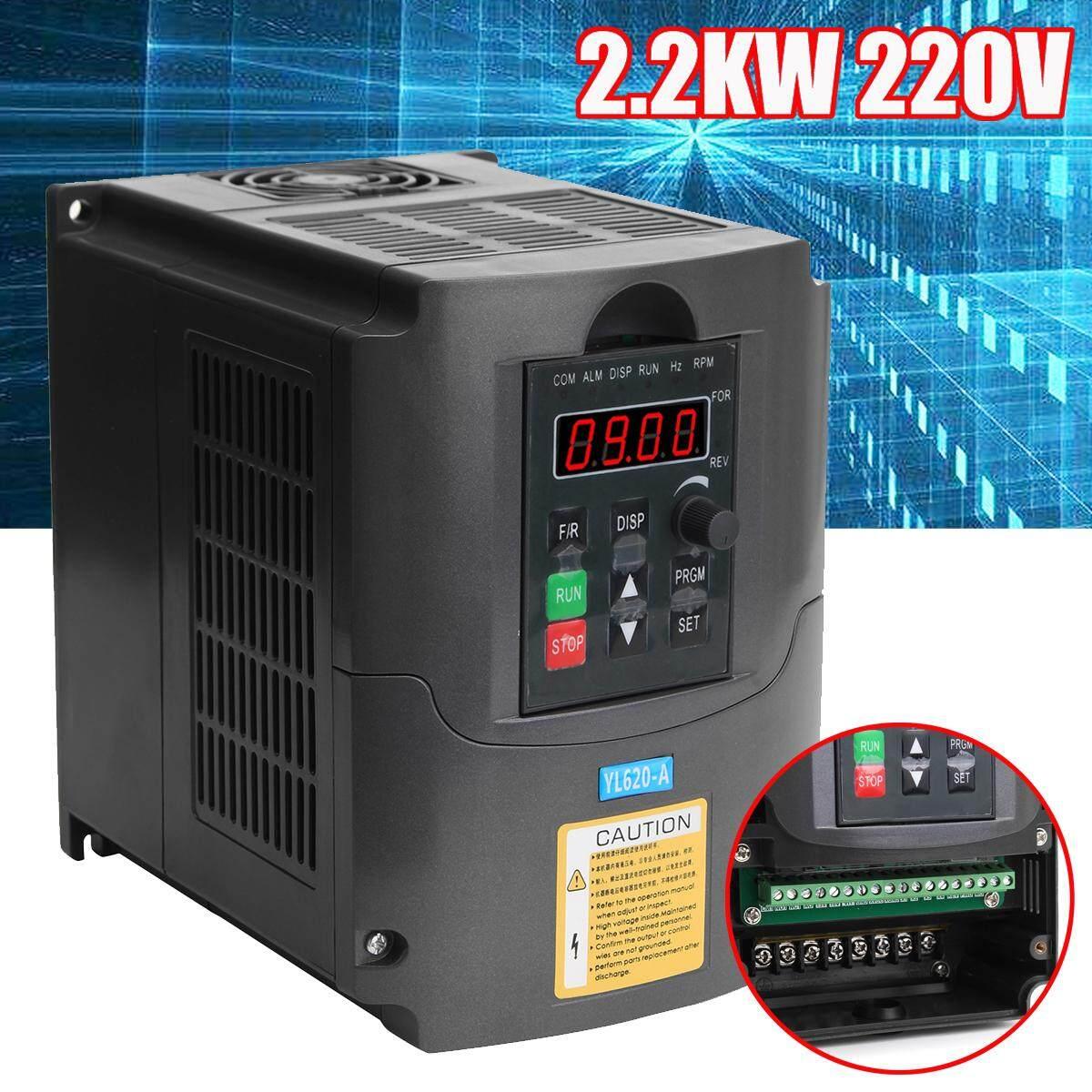 2.2KW 1PH Variabel Vector Frequency Drive Kecepatan Inverter Motor Konverter Kontrol-Intl
