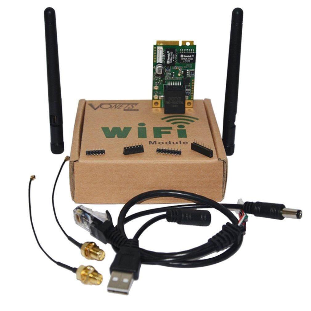 ดูล Wifi B 2.4 Ghz ไร้สายแบบ 802.11 B/g/n คณะกรรมการพัฒนาระบบ Wifi สีดำและสีเขียว.