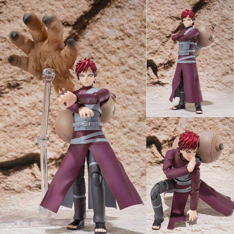 15 Cm Anime Lucu Naruto Patung Sabaku No Gaara Uzumaki Gundam Figur PVC Model Koleksi Mainan