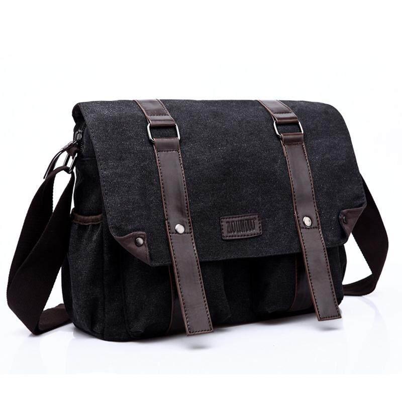 bd0840857d Men S Canvas Handbag Bag Vintage Messenger Bag Brand Business Handbags  Casual Travel Shoulder Bag Men