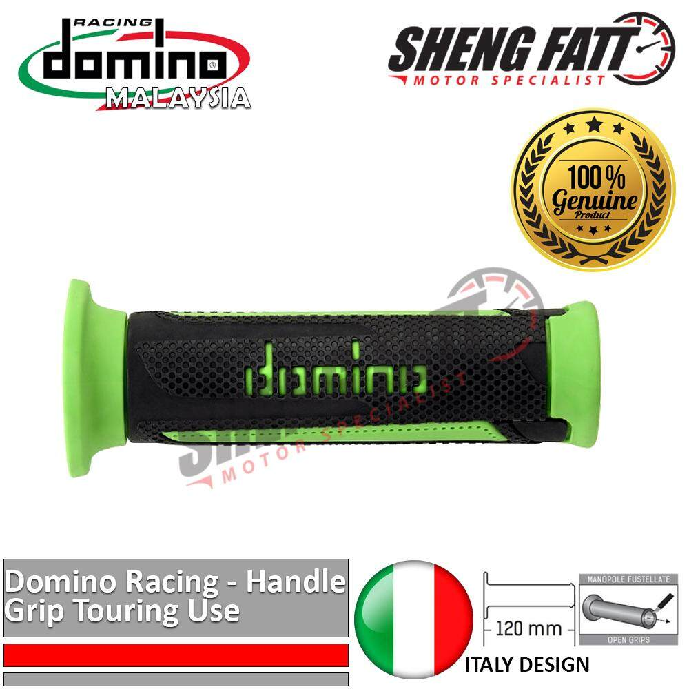 "Domino Universal Handle Bar 7/8"" Motorcycle TURISMO Touring Throttle Grips MotoGP handlebar Red [ORIGINAL]"