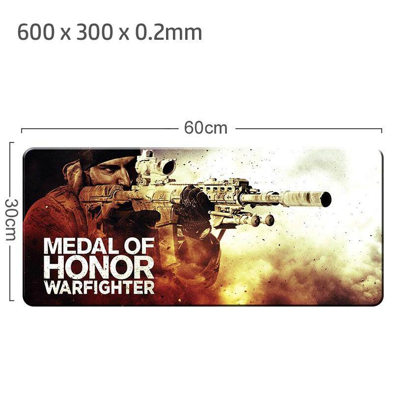 Medal Of Honor Gaming Mat Non-slip Anti Fray Stitching Beautiful Mouse Pad