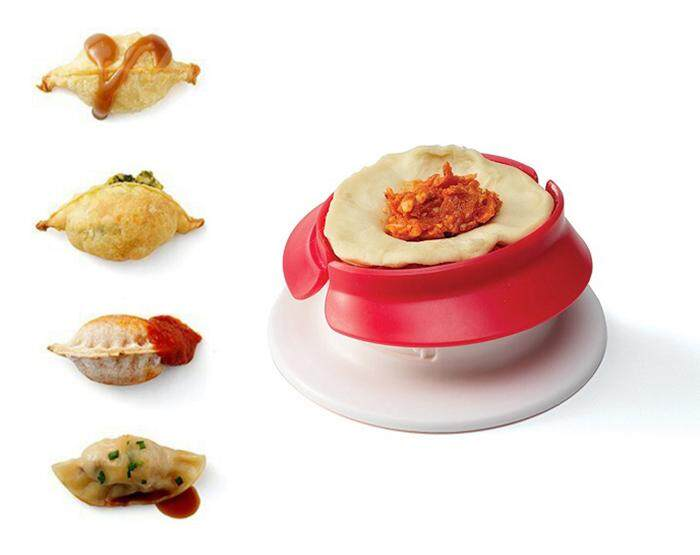 Chef'n Pocket Machine Mini Pocket Currypuff Dumpling Gyoza Mold Maker