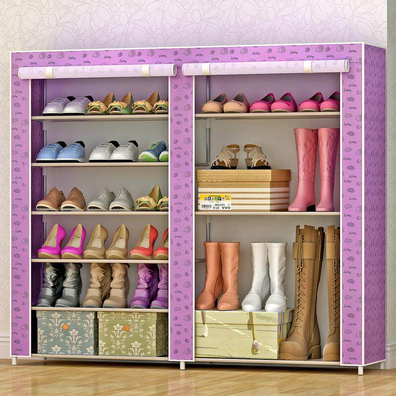 Fo A Simple Shoe Cabinet A Multi Storey Economical Shoe Rack With Modern Simplicity.