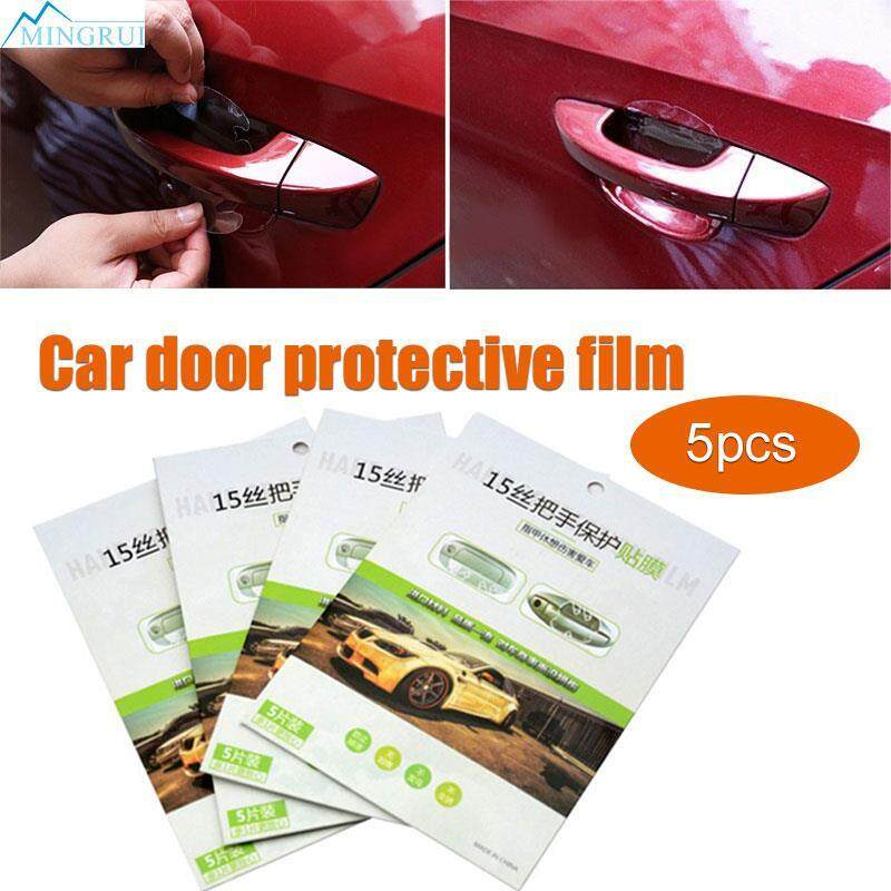 Mingrui Store Car Door Handle 5pcs Car Sticker Car Decals Protector Films By Mingrui.