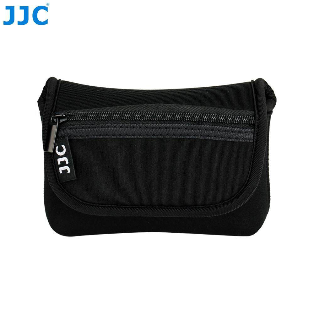 JJC Neoprene Compact Camera Pouch Soft Protective Case Bag for Sony RX100 II/III/IV/V/VI, Ricoh GR II,Olympus TG-5/4/3/2/1,Canon G7X, Panasonic TS30 (Up to 113 x 66 x 39mm)