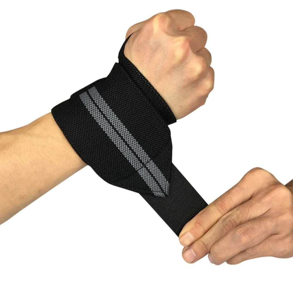 Fdikou เพาะกายผ้าพันพยุงข้อมือบาร์ยกน้ำหนักอุปกรณ์ยิมผ้าพันคอผ้าหุ้มหัวเข่า By Fdikou.