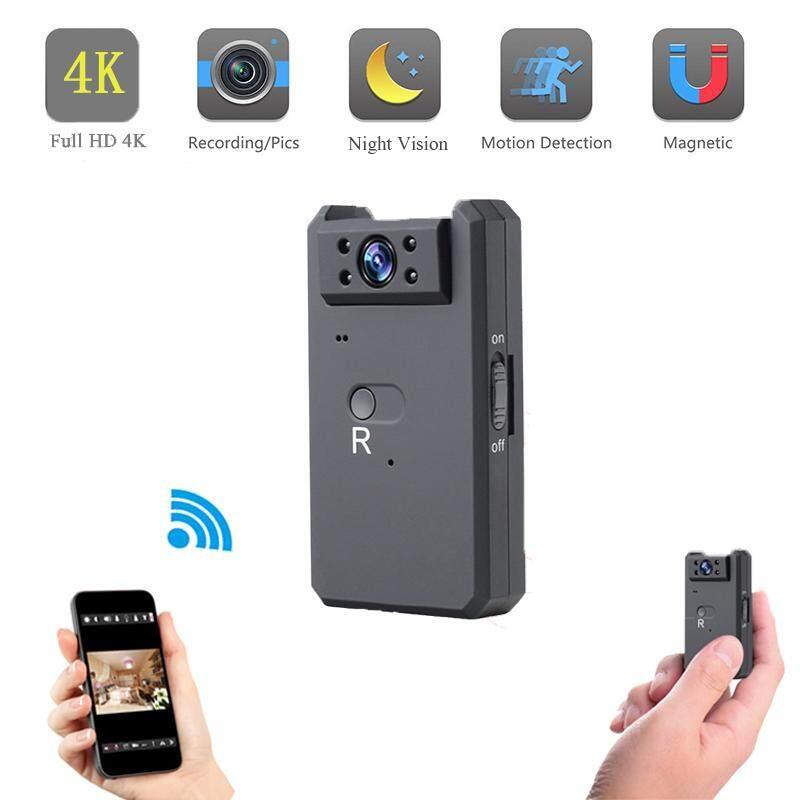 JDM 4 K HD Kamera Mini Wifi Spy Cam Tersembunyi Magnetik Audio dan Video Recorder Modus Malam Kecil Deteksi Gerakan Camcorder Nirkabel Mikro Kamera Mobil