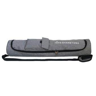 Harga preferensial Matras Yoga Tas Olahraga dengan Saku Samping Tahan Air Pembawa Tas Ransel dengan Tali