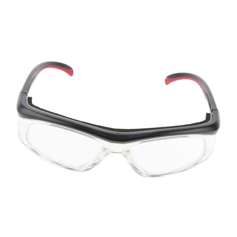Miracle Shining Black & Red Lab Safety Protective Goggles for Cycling Shooting BioExperiment
