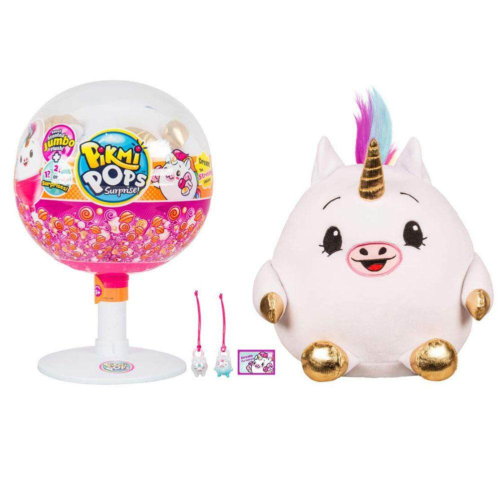 PER Pikmi Pops Large Pack Series 2 - Dream the Stretchy Unicorn Jumbo Plush