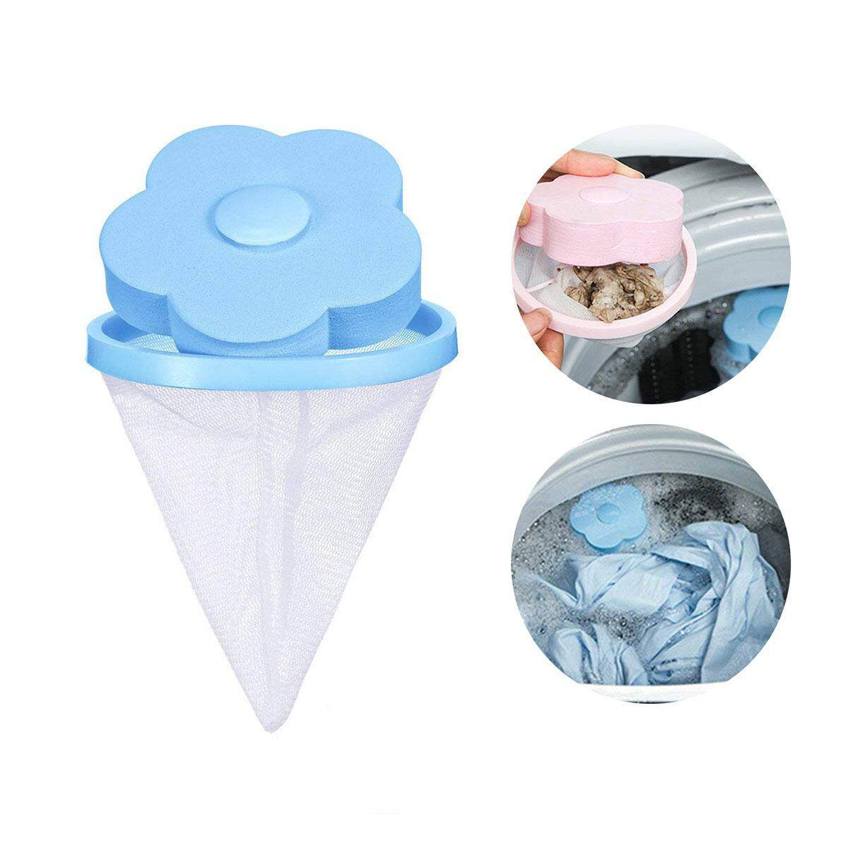 Goodgreat Reusable Washing Machine Hair Removal Laundry Ball Floating Washing Machine Lint Mesh Bag Hair Catcher Filter Net Pouch,1 Pcs By Good&great.