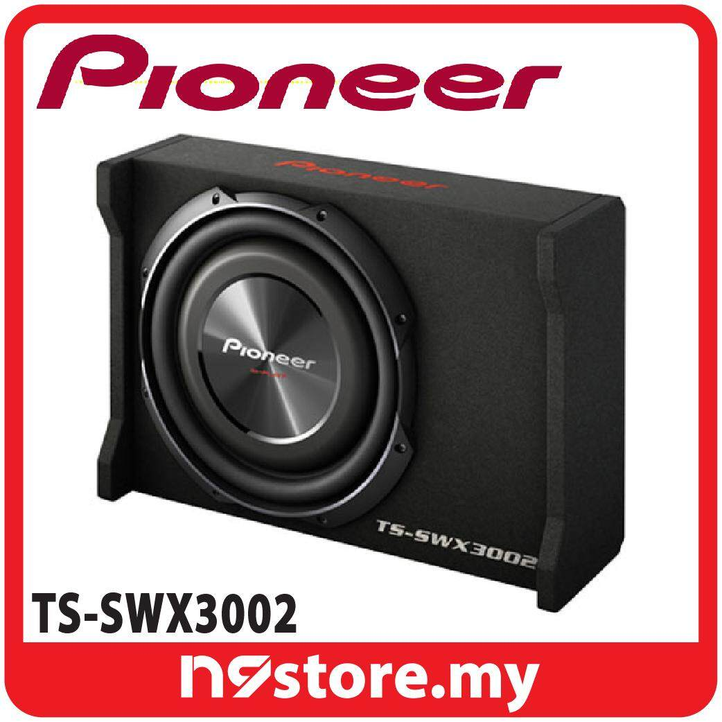 """Pioneer TS-SWX3002 12"""" Shallow Mount Subwoofer With Enclosure 400W at 4 OHM"""