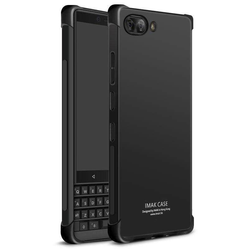 Imak Airbag Surrounded Protection Shockproof Editon Case For Blackberry Key2 Blackberry Key 2 With Soft Explosion-Proof Film.