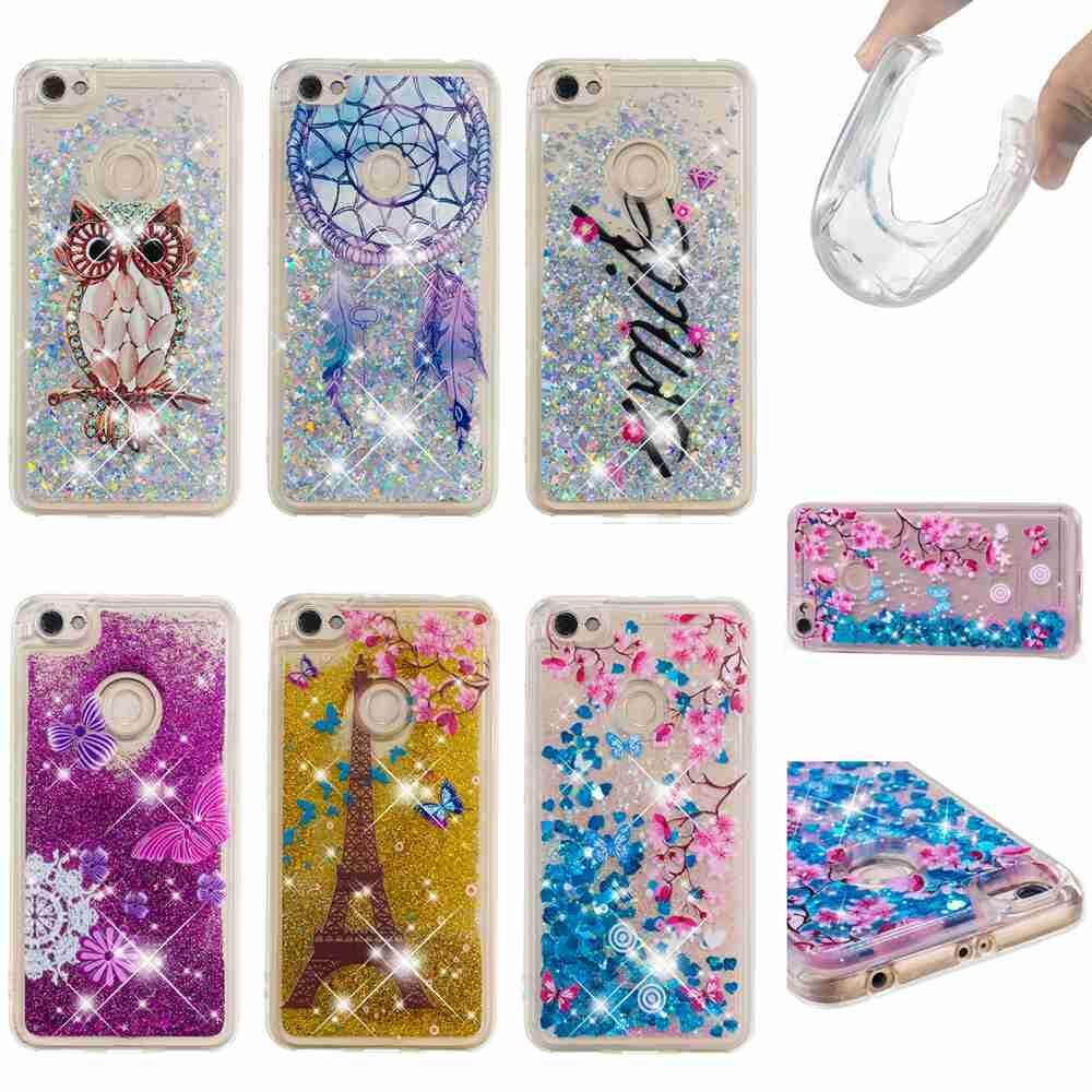 ... Case for Xiaomi Redmi Note 5A Prime Painted Liquid Flowing Quicksand Bling Glitter Diamond TPU Soft