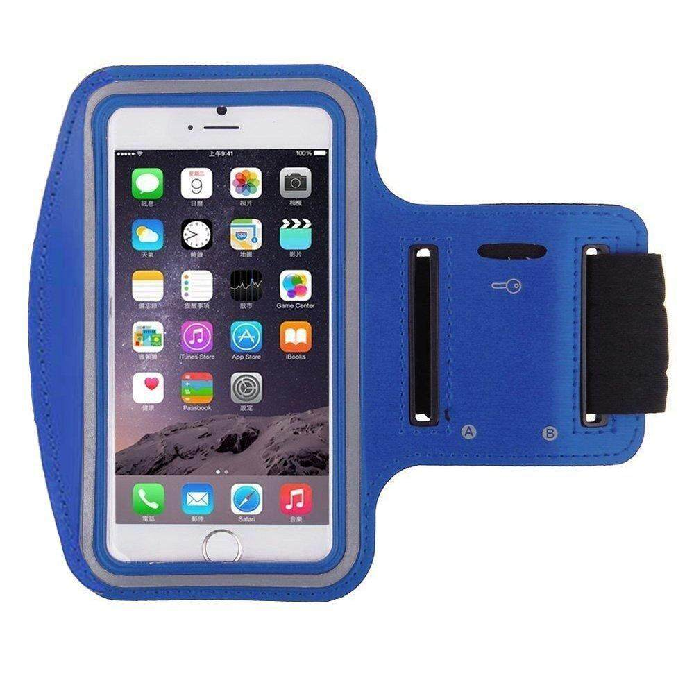 Waterproof Sport Running Arm Band Case(Blue 5.5 Inch)