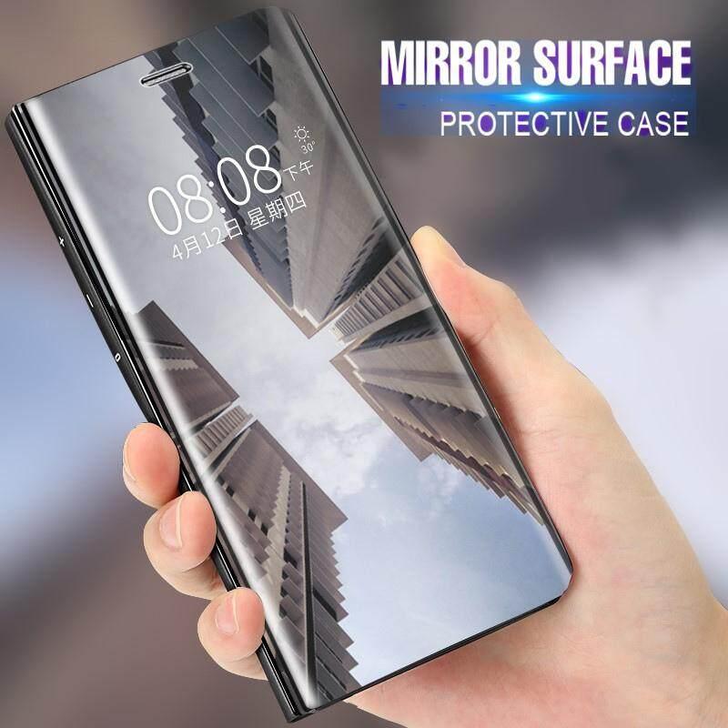 Untuk OPPO F5 Case Spion Smart Flip Penutup Dudukan Kulit Imitasi Mewah Penutup Lapisan Case untuk OPPO F5 Sarung HP Capa