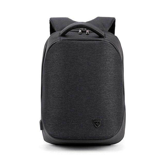 901aa485d53a VRTREND Men USB Charging Waterproof Laptop Backpacks For Teenager Fashion  Male Mochila Leisure 15inch Anti Theft Travel Backpack