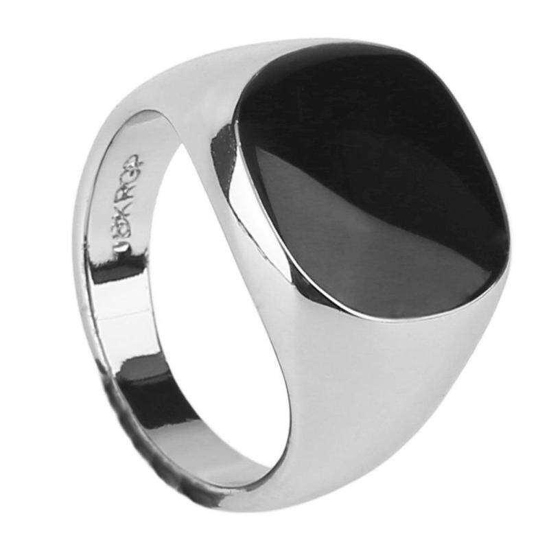Luxury Super Cool Vintage Men Male Ring Jewelry Titanium Steel Party Club Ring Malaysia